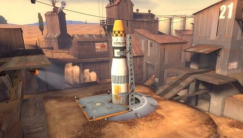 Ракета на карте Doomsday
